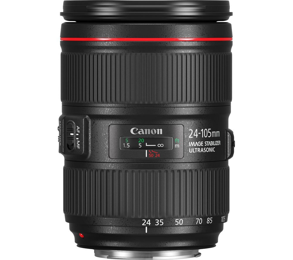 Compare cheap offers & prices of Canon EF 24-105 mm f-4 L II USM Standard Zoom Lens manufactured by Canon