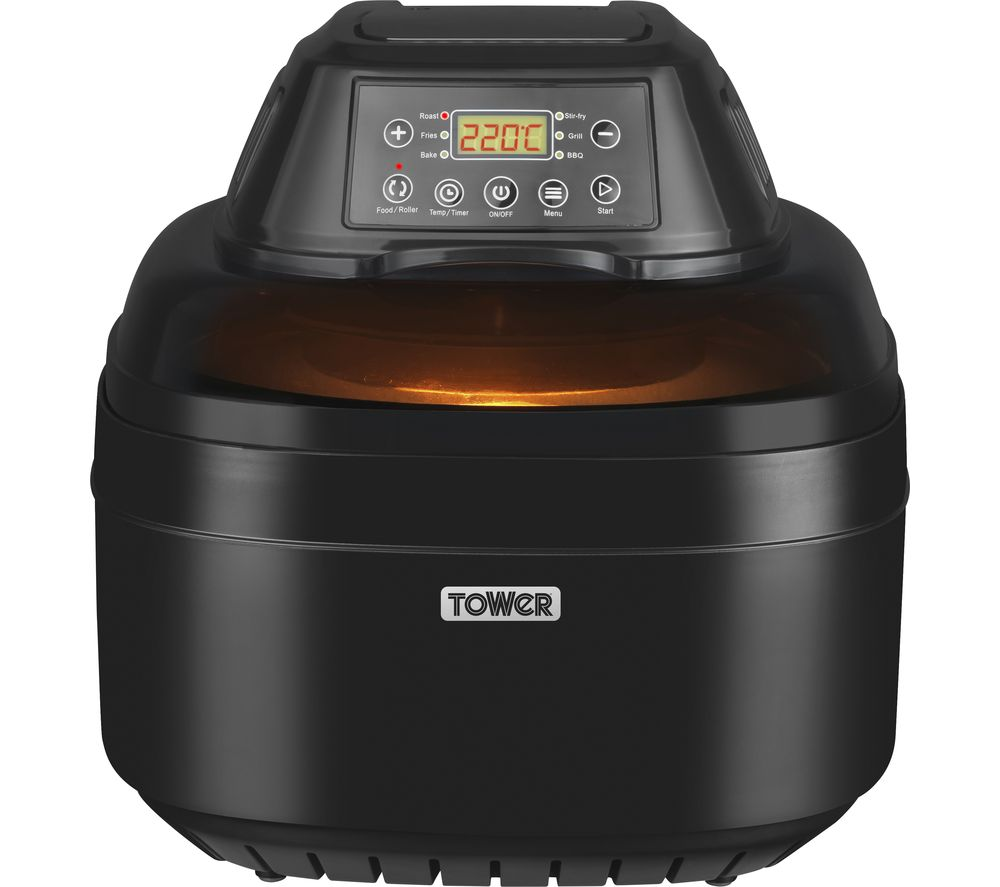 TOWER T17004 Digital Air Fryer - Black