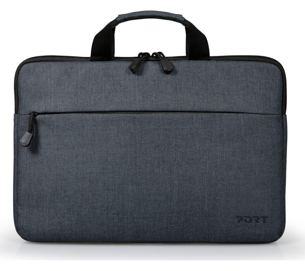 """Image of PORT DESIGNS Belize 13.3"""" Laptop Case - Grey, Grey"""