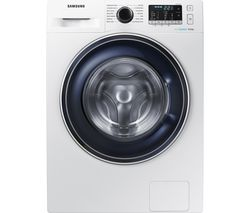 SAMSUNG ecobubble WW80J5555FW 8 kg 1400 Spin Washing Machine - White