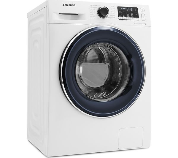 SAMSUNG ecobubble WW80J5555FW 8 kg 1400 Spin Washing Machine - White