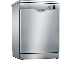 BOSCH Serie 2 SMS25EI00G Full-size Dishwasher - Silver Best Price, Cheapest Prices