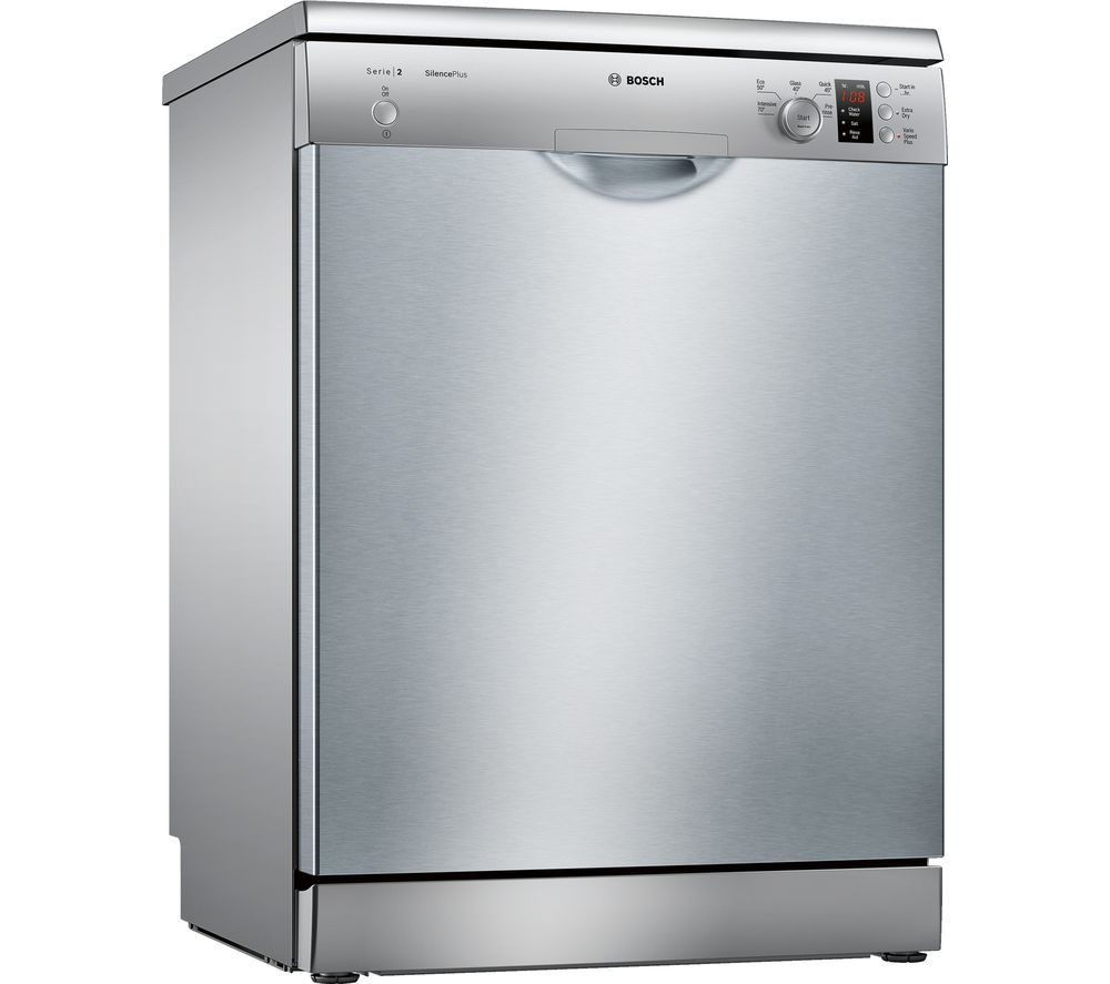 Buy Bosch Serie 2 Sms25ei00g Full Size Dishwasher Silver