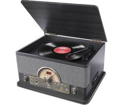 Superior LP Bluetooth Music Centre - Black Ash