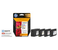 HP 950/951 Cyan, Magenta, Yellow & Black Ink with Instant Ink Enrolment - £24 credit