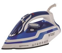 RUSSELL HOBBS Powersteam Pro 20631 Steam Iron - White & Blue