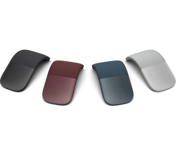 Cobalt Blue Microsoft Surface Wireless Arc Mouse