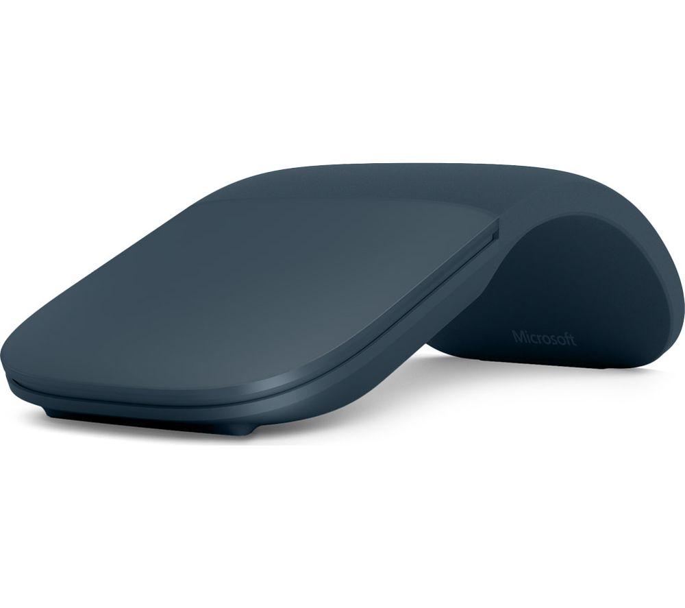 MICROSOFT Surface Arc BlueTrack Touch Mouse - Cobalt Blue