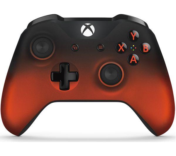Image of MICROSOFT Xbox Volcano Shadow Wireless Controller - Metallic Red