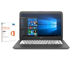 "HP Stream 14-ax055sa 14"" Laptop - Grey"