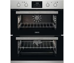 ZANUSSI ZOF35802XK Electric Built Under Double Oven - Stainless Steel