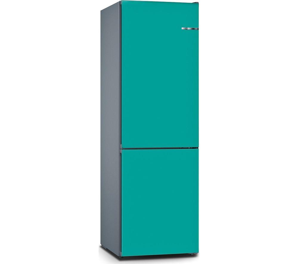BOSCH Serie 4 Vario Style KGN39IJ3AG 60/40 Fridge Freezer - Aqua