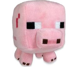 "MINECRAFT Baby Pig Plush Toy - 8"", Pink"
