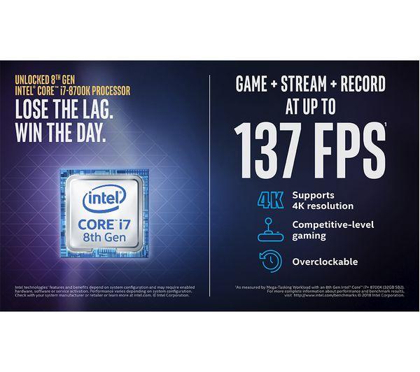 ALIENWARE Aurora R7 Intel® Core™ i7 GTX 1080 Ti Gaming PC - 2 TB HDD & 512  GB SSD