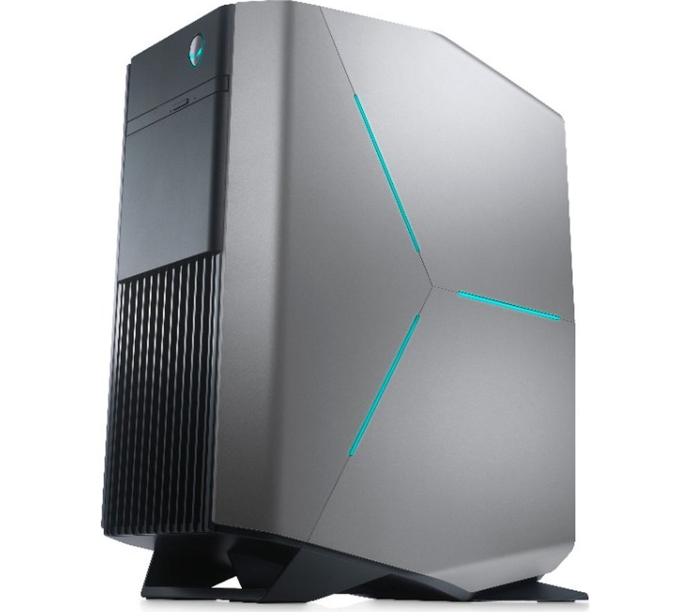 alienware aurora r7 gaming pc silver deals pc world. Black Bedroom Furniture Sets. Home Design Ideas