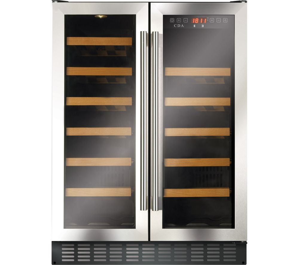 CDA FWC624SS Wine Cooler - Stainless Steel, Stainless Steel