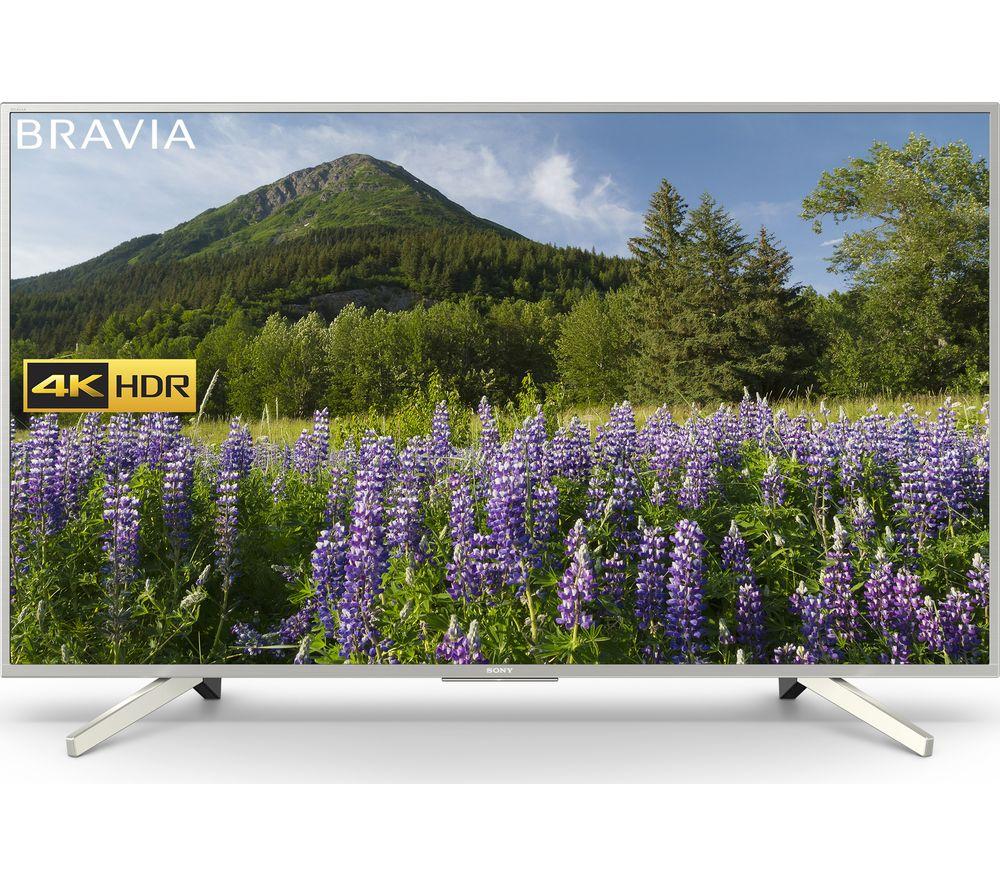 "55""  SONY BRAVIA KD55XF7073SU Smart 4K Ultra HD HDR LED TV, Gold"