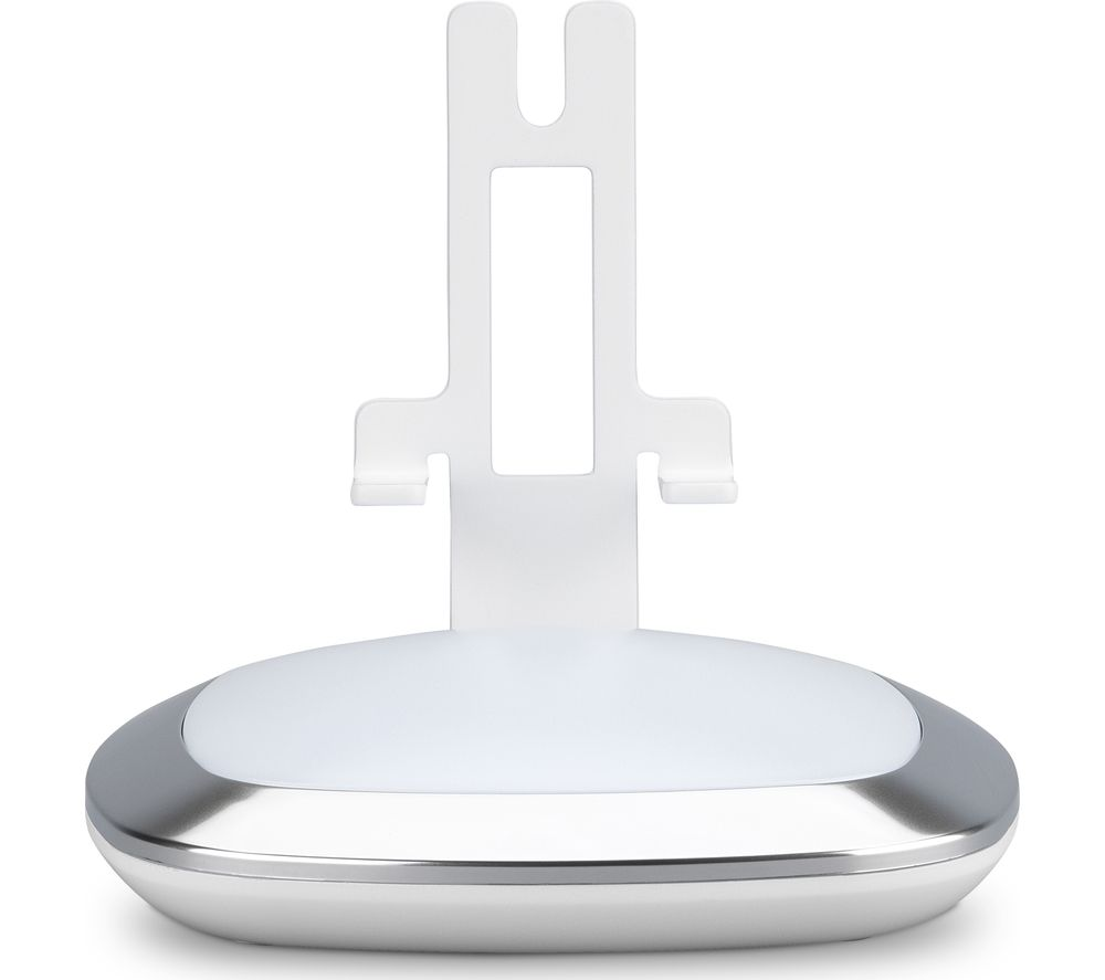 FLEXSON Illuminating Charging Stand for Sonos PLAY:1 - White