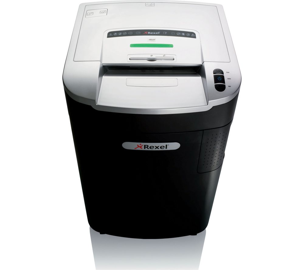 REXEL SmarTech Auto+ 600X Cross Cut Paper Shredder