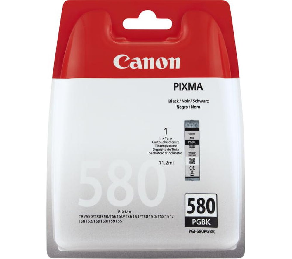 CANON PGI-580 Black Ink Cartridge