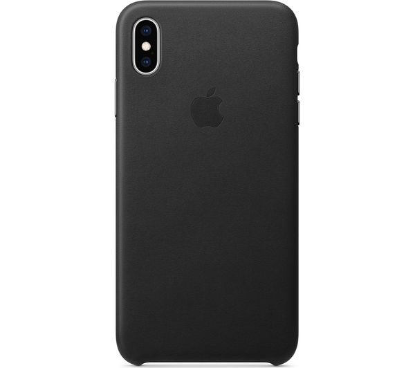 buy online 2bed5 19a1c APPLE iPhone Xs Max Leather Case - Black
