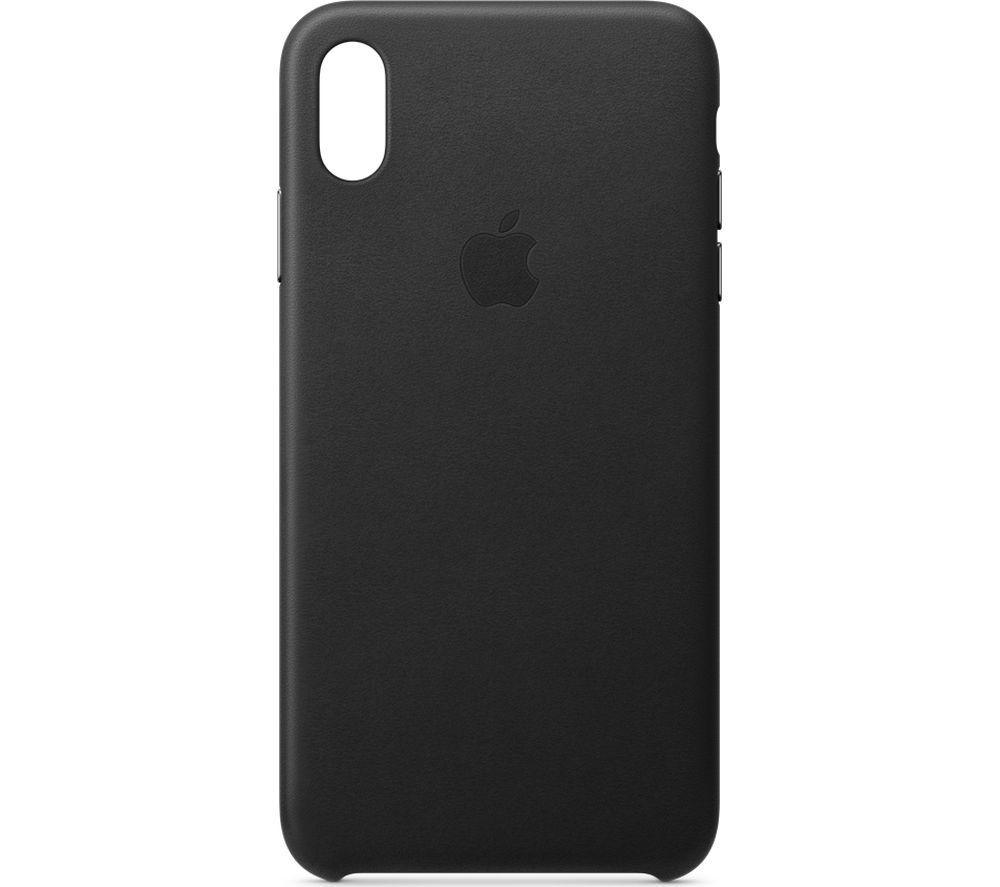 buy online fa698 b0e57 APPLE iPhone Xs Max Leather Case - Black