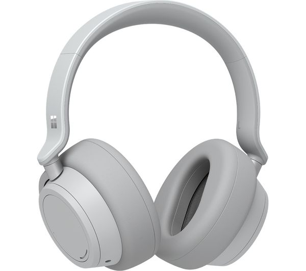Image of MICROSOFT Surface Wireless Bluetooth Noise-Cancelling Headphones - Platinum