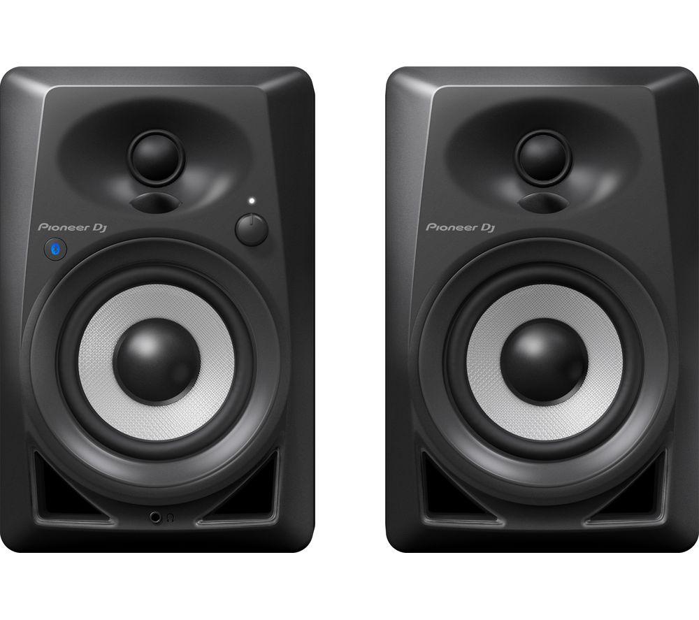 PIONEER DJ DM-40BT 2.0 Bluetooth DJ Monitor Speakers - Black