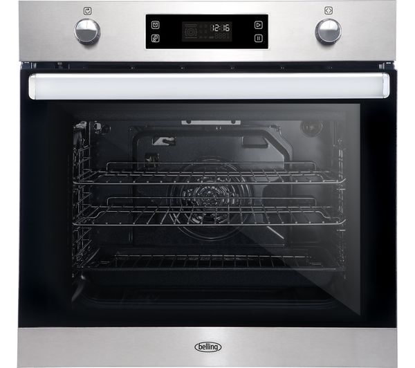 Image of BELLING BI602MFPY Electric Oven - Stainless Steel