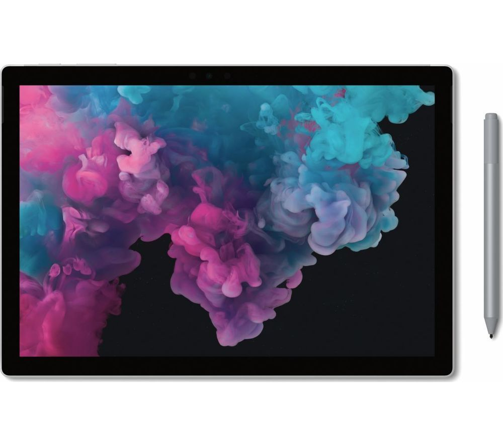 "Image of MICROSOFT 12.3"" Intel® Core™ i7 Surface Pro 6 - 1 TB SSD, Silver, Silver"