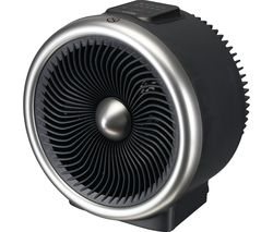 L20TFH19 Portable Hot & Cool Fan Heater - Black