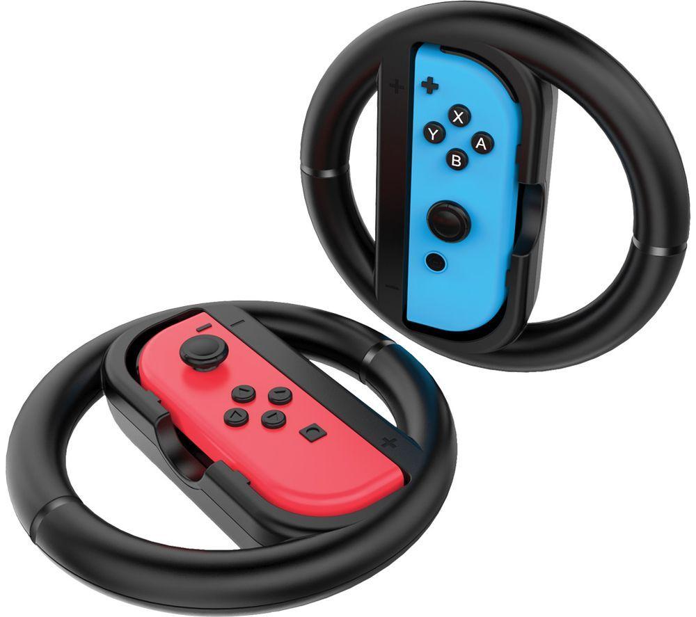 Image of VENOM VS4794 Nintendo Switch Joy-Con Racing Wheels
