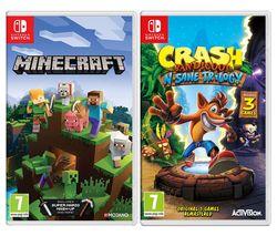 Minecraft & Crash Bandicoot N-Sane Trilogy Bundle