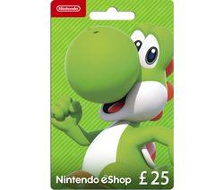 eShop Gift Card - £25