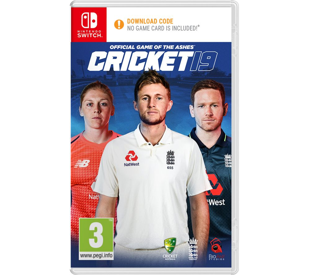 NINTENDO SWITCH Cricket 19 - The Official Game of the Ashes
