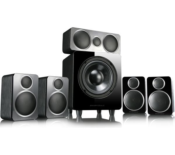 Image of WHARFEDALE DX-2HCP 5.1 Speaker System - Black