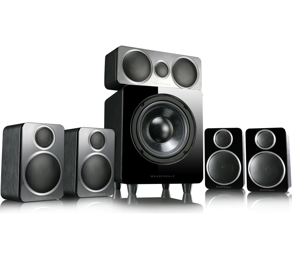 Image of DX-2HCP 5.1 Speaker System - Black, Black