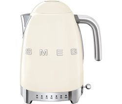 SMEG 50's Retro Style KLF04CRUK Jug Kettle - Cream