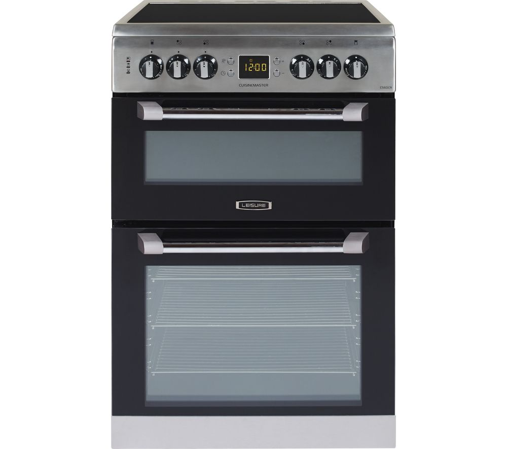 CS60CRX 60 cm Electric Ceramic Cooker - Stainless Steel, Stainless Steel