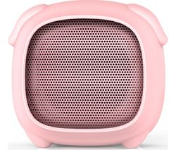 KITSOUND Boogie Buddy Portable Bluetooth Speaker - Pig, Pink