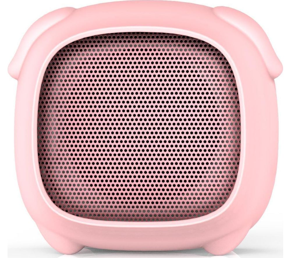 Image of KITSOUND Boogie Buddy Portable Bluetooth Speaker - Pig, Pink, Pink