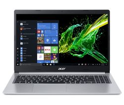 "ACER Aspire 5 A515-43 15.6"" AMD Ryzen 5 Laptop - 256 GB SSD, Silver"