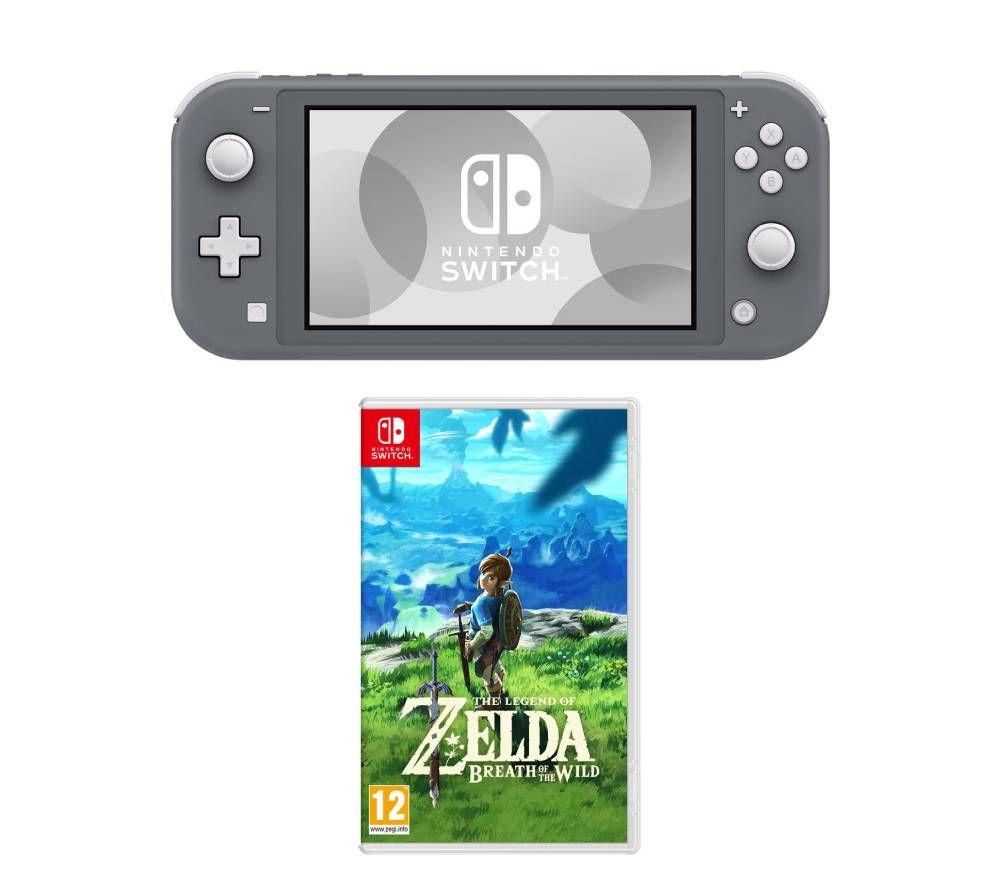 NINTENDO Switch Lite & The Legend of Zelda: Breath of the Wild Bundle