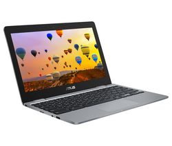 "ASUS C223NA 11.6""  Chromebook - Intel® Core™ Celeron, 32 GB eMMC, Grey"