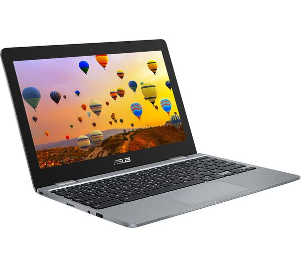 "Image of ASUS C223NA 11.6"" Chromebook - Intel® Core™ Celeron, 32 GB eMMC, Grey"
