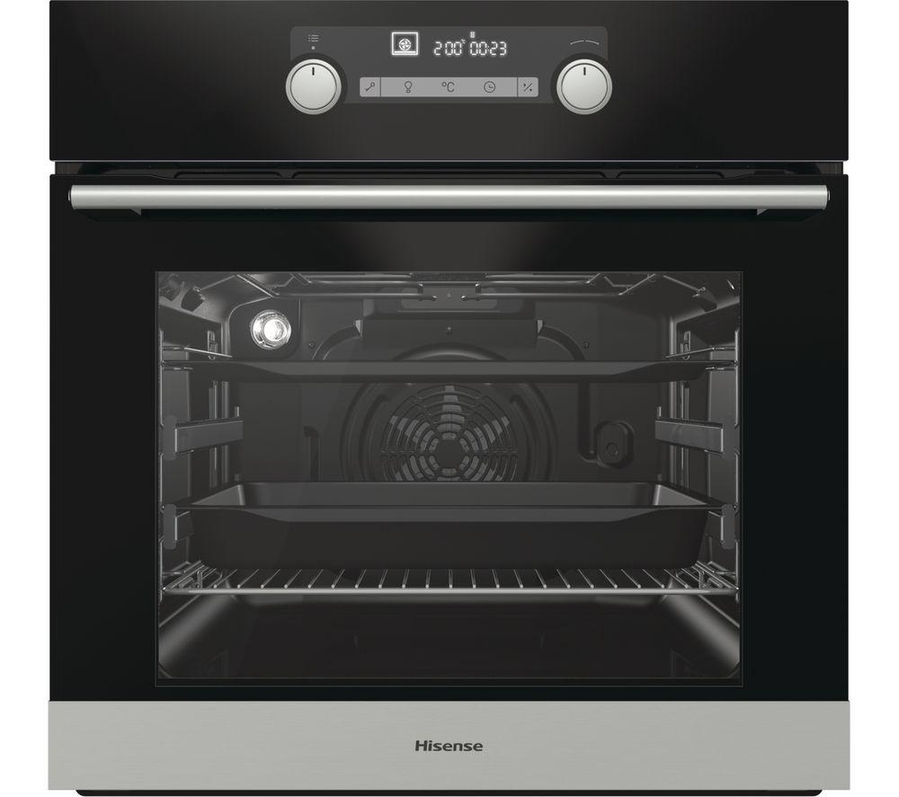 HISENSE BI5323PGUK Electric Oven - Black, Black