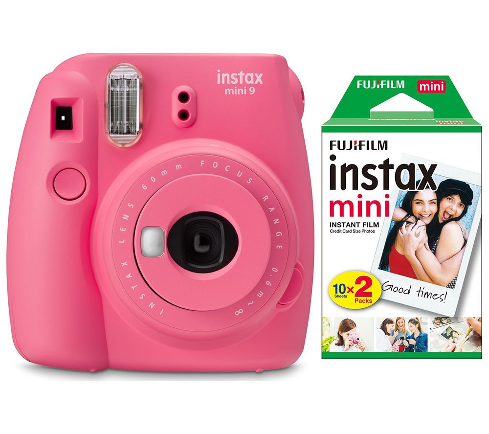 Click to view product details and reviews for Instax Mini 9 Instant Camera Mini Film 20 Shot Pack Bundle Flamingo Pink Pink.