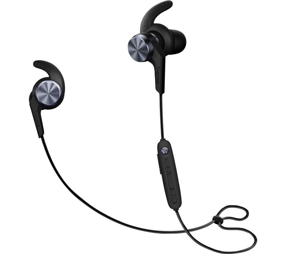 1MORE E1018BT iBFree Sport Wireless Bluetooth Earphones - Black, Black