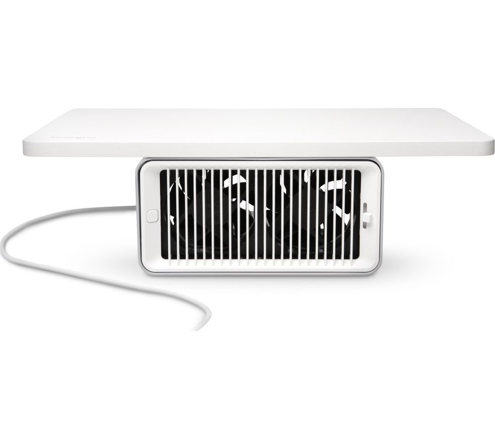 Image of KENSINGTON CoolView Wellness Monitor Stand with Desk Fan