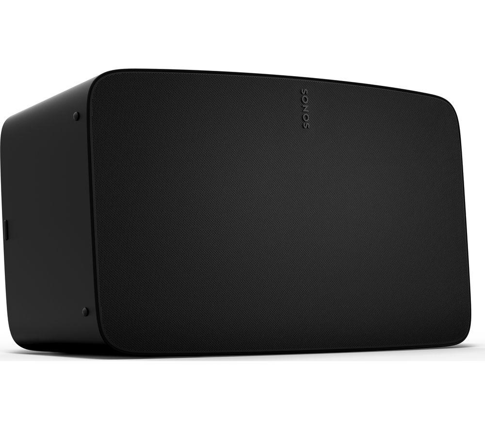 SONOS Five Wireless Multi-room Speaker - Black, Black